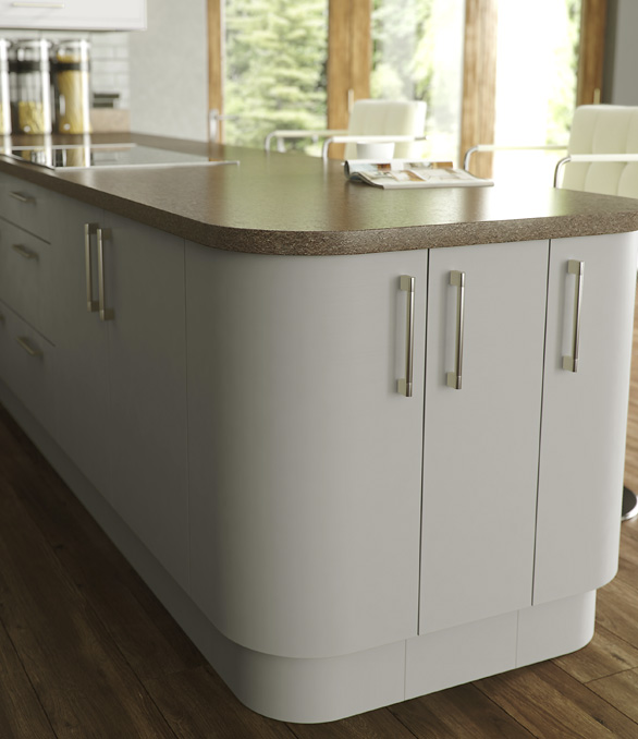 Lastra Painted Kitchen - Chippendale Kitchens | Supplied and Installed by Kingsbury Kitchens